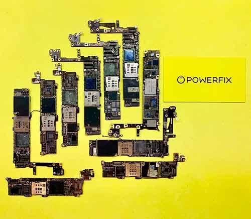 ремонт материнской платы iPhone