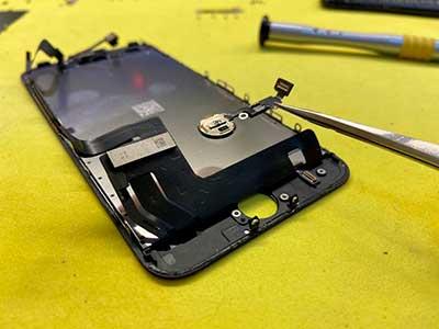 ремонт кнопки home iphone 7 plus