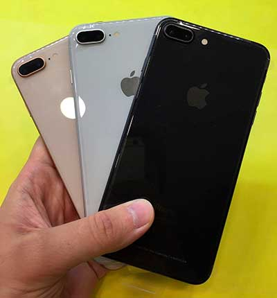 ремонт iPhone 8 plus, замена заднего стекла