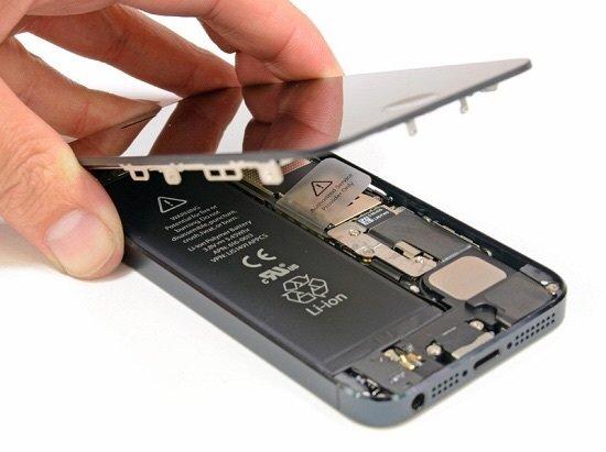 Замена аккумулятора или батареи iphone 5s