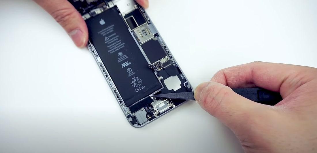 замена аккумулятора iphone 6 / 6 Plus