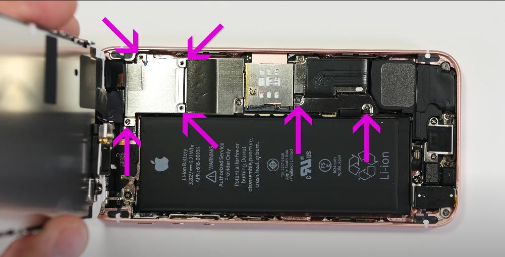 ремонт iPhone SE в Минске