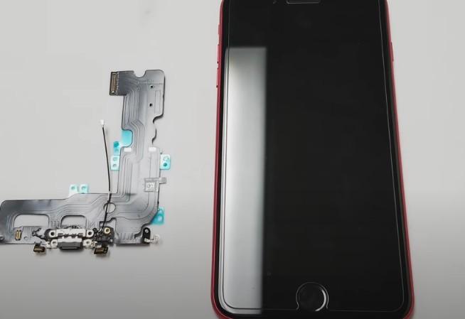 замена микрорфона iphone 7