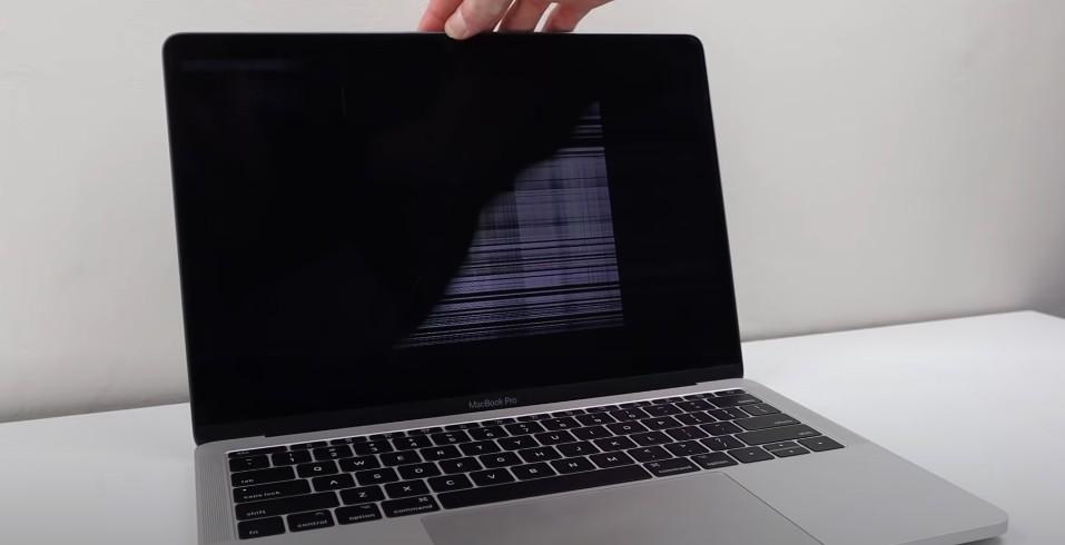 Замена экрана MacBook Pro