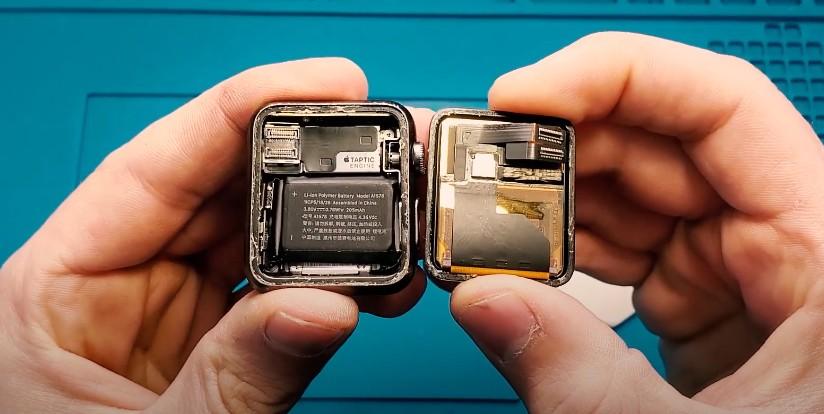 Замена батареи в Apple Watch Series 4