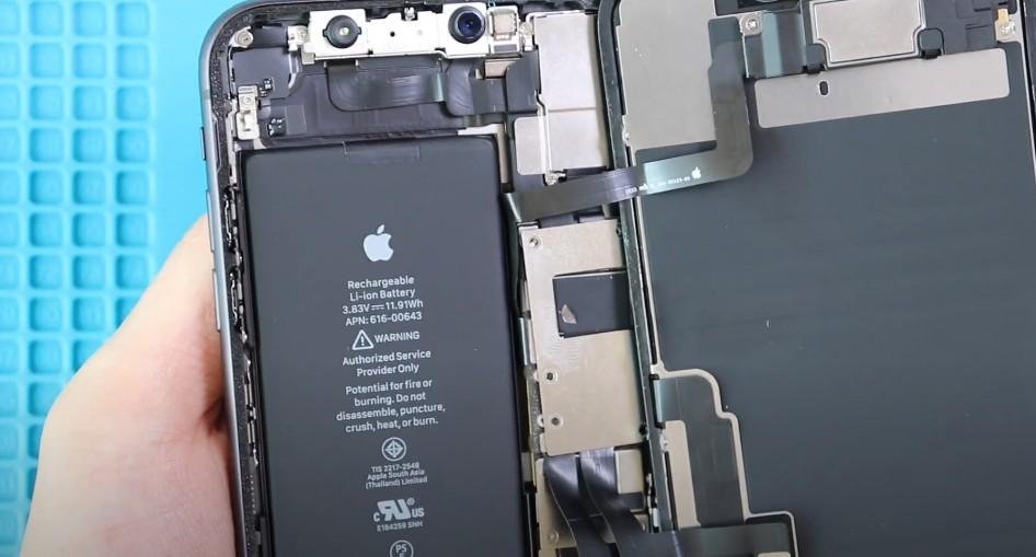 аккумулятор айфона 11