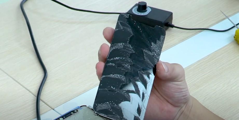 замена стекла iPhone XR