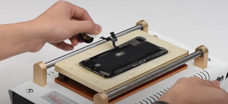 замена стекла для экрана iPhone XS Max